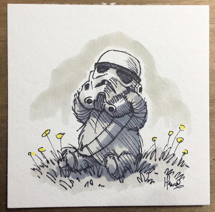 Star Wars Winnie the Pooh 3