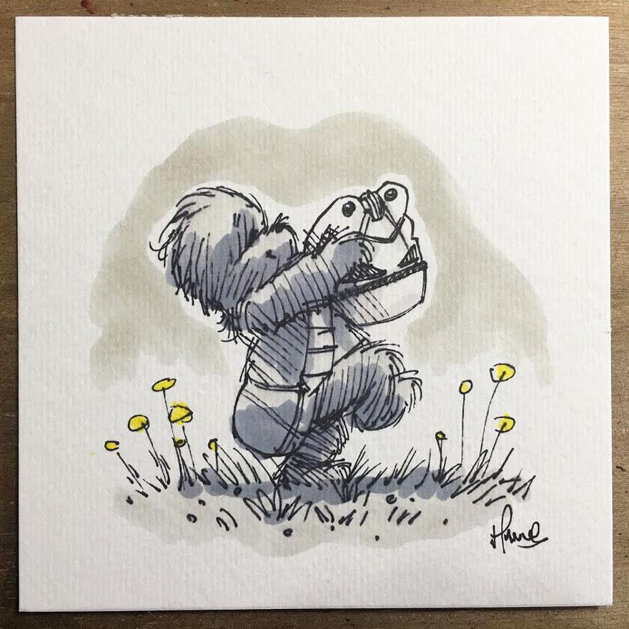 Star Wars Winnie the Pooh 5