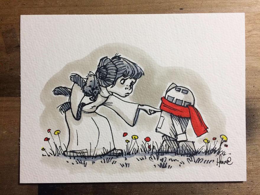Star Wars Winnie the Pooh 7