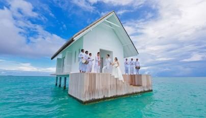 boda pasada por agua