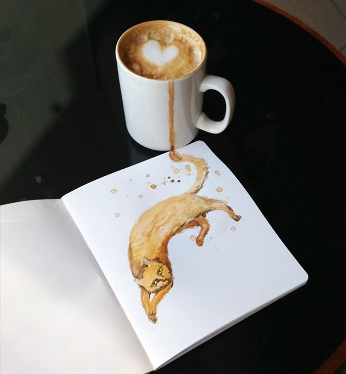 fan del cafe y los gatos 4