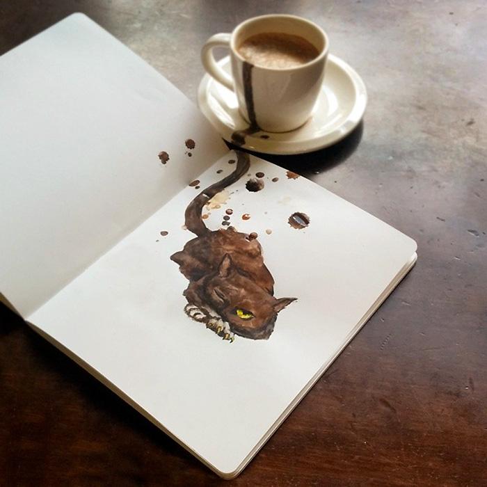 fan del cafe y los gatos 5