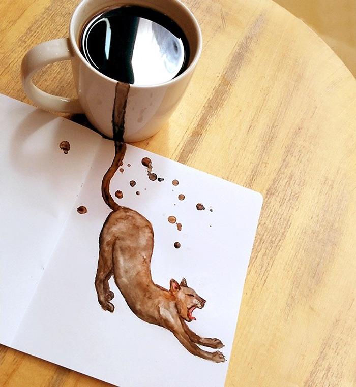 fan del cafe y los gatos 6