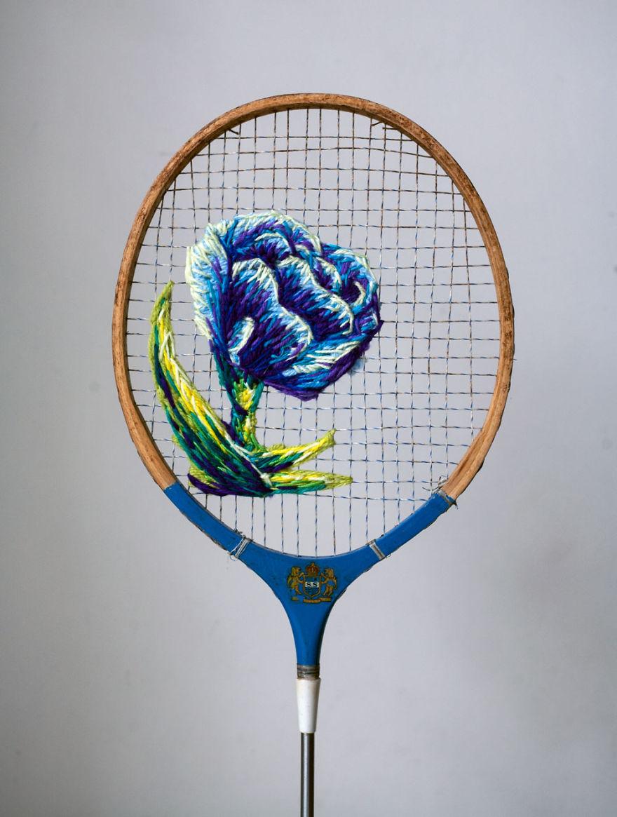 raquetas de tenis con bordados 3