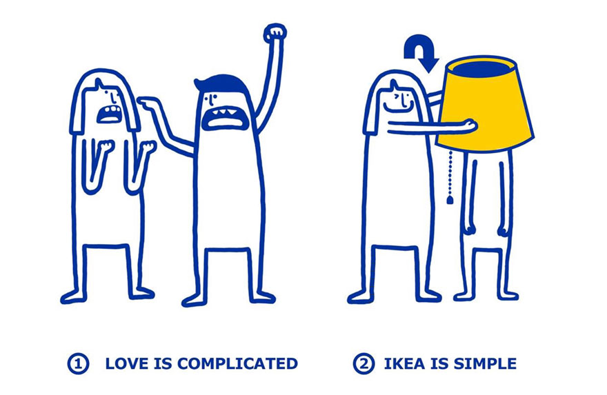 IKEA problemas amorosos 1