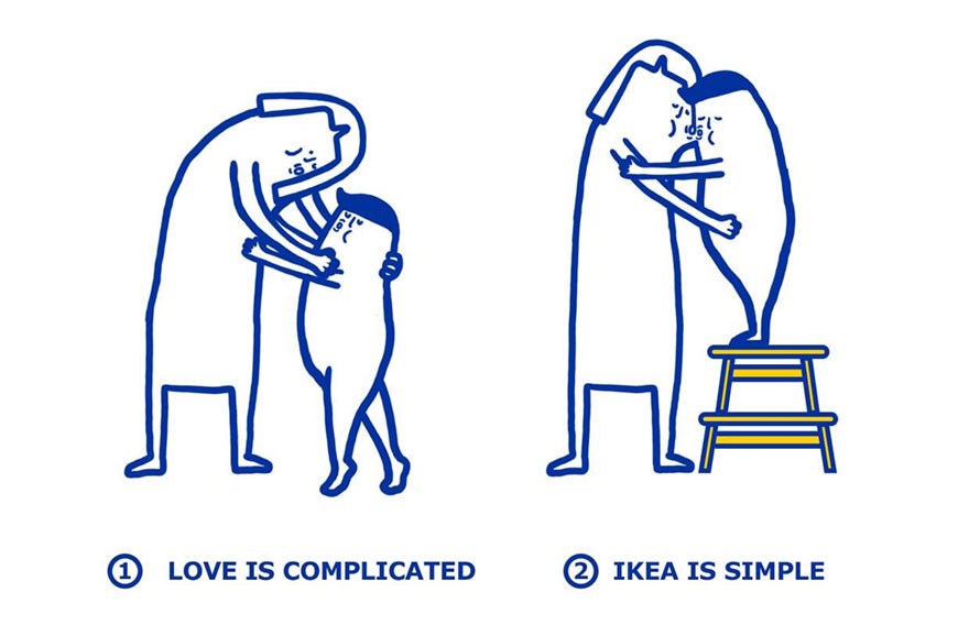IKEA problemas amorosos 2
