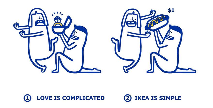 IKEA problemas amorosos 3