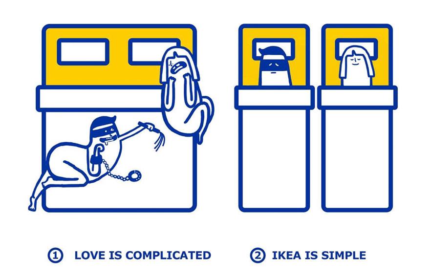 IKEA problemas amorosos 4