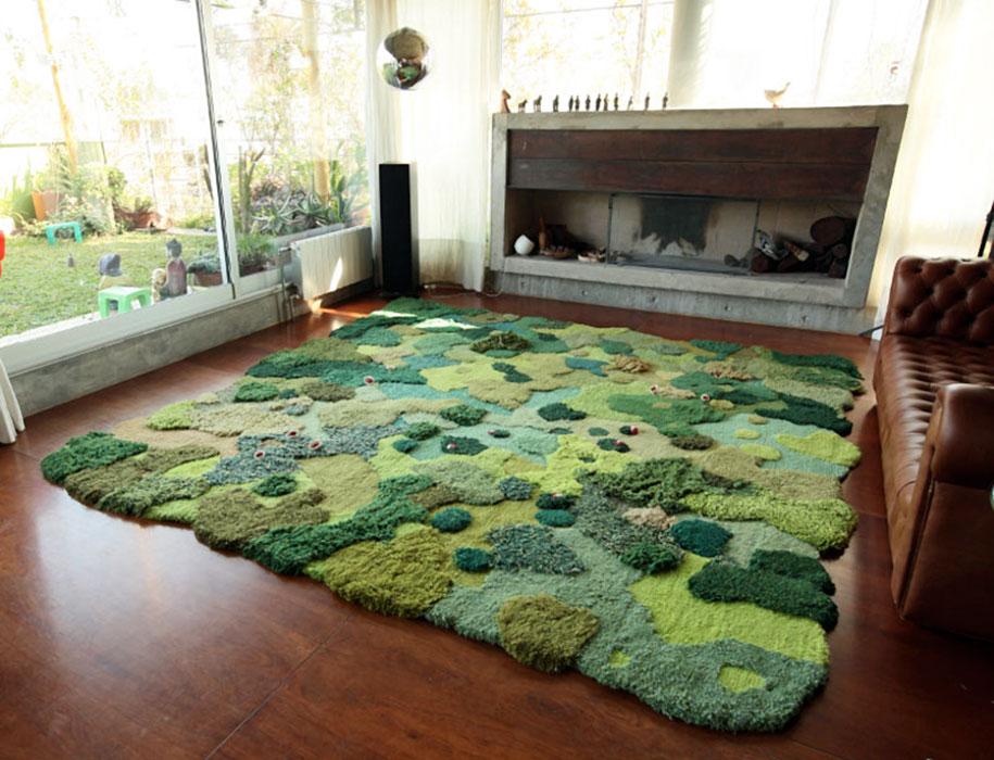 alfombra que te hara sentir como en el bosque 2