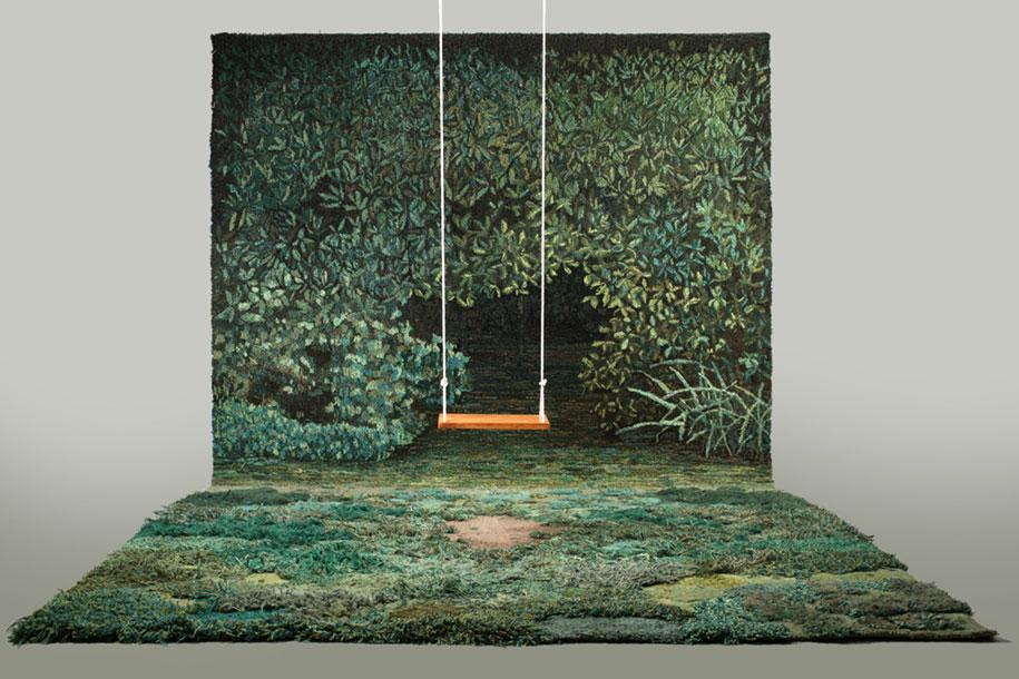 alfombra que te hara sentir como en el bosque 3