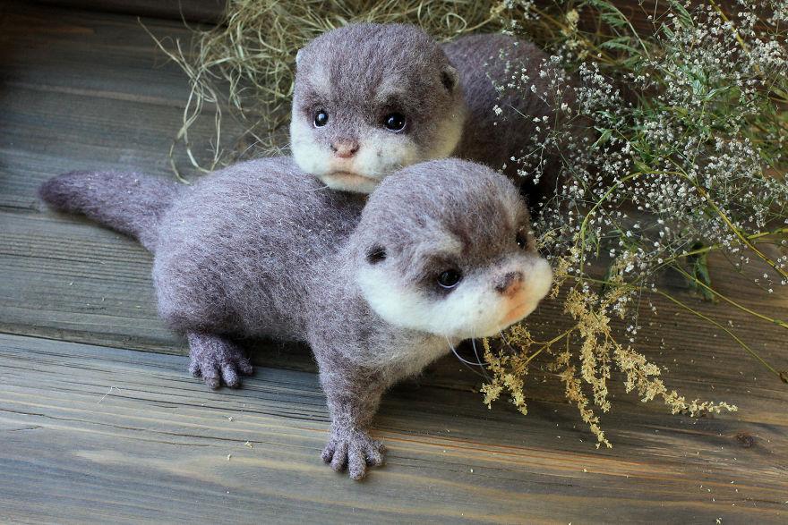 animales hechos con lana 4