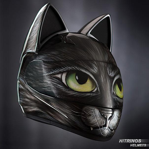 cascos para gatas 1