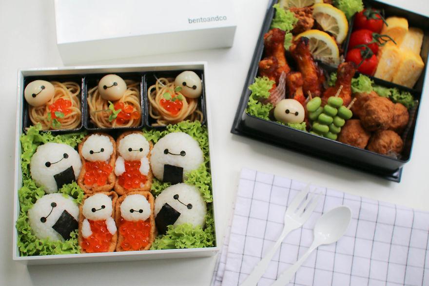 comida inspirada dibujos animados 11