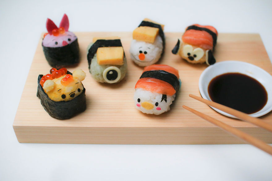 comida inspirada dibujos animados 4
