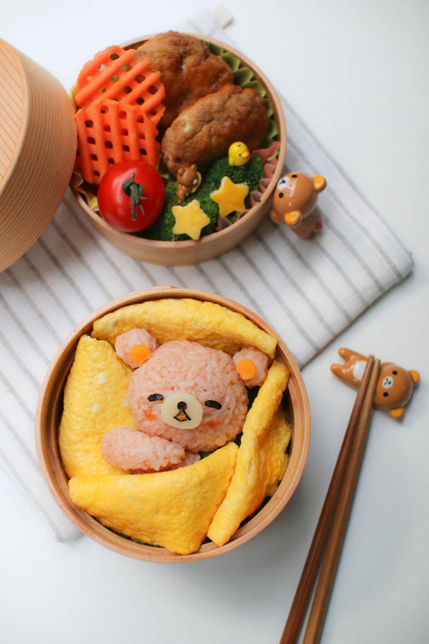 comida inspirada dibujos animados 9