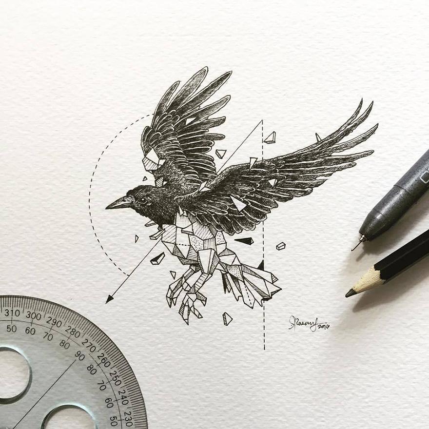 Dibujos de animales fusionados con formas geomtricas dibujos animales formas geometricas 8 fandeluxe Gallery