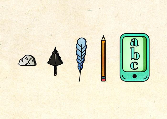 dibujos evolucion 14