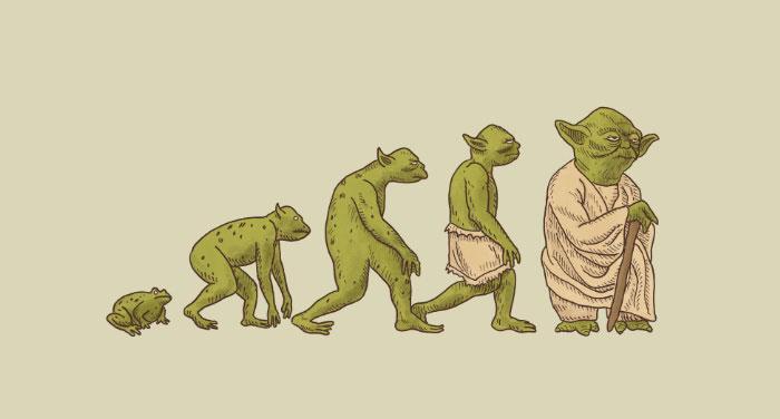 dibujos evolucion 7