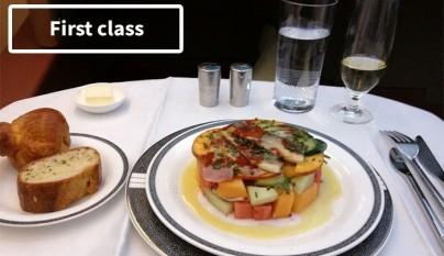 diferencias comida clase turista y business 4