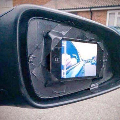 espejo retrovisor movil