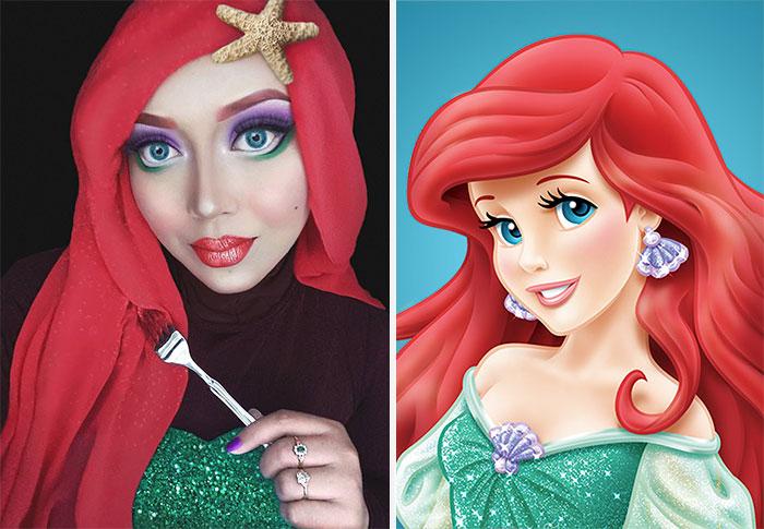 hijab Disney 1
