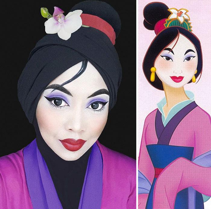 hijab Disney 3
