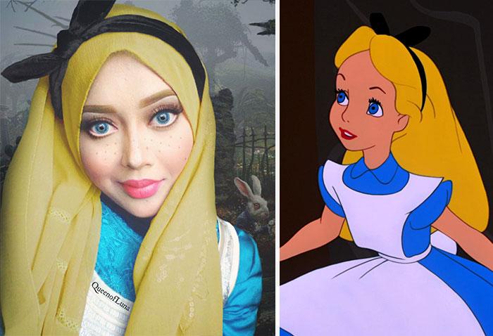 hijab Disney 4