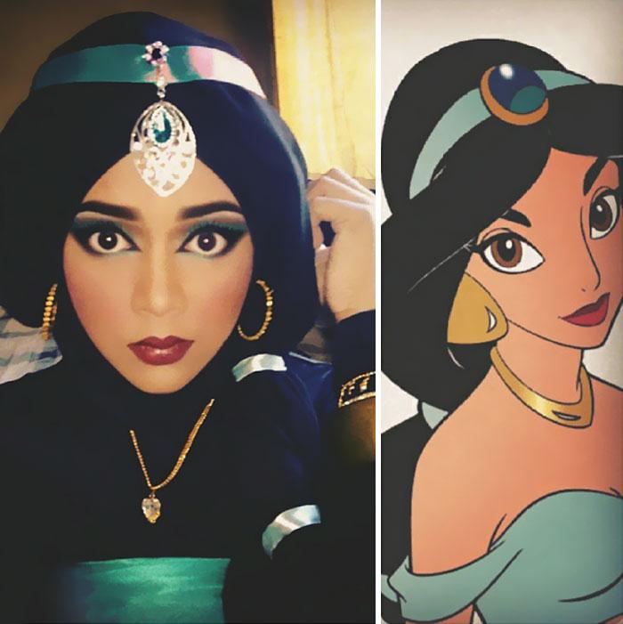 hijab Disney 5