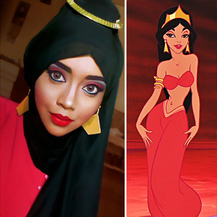 hijab Disney 9