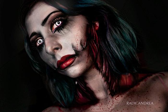 maquillaje monstruoso 11