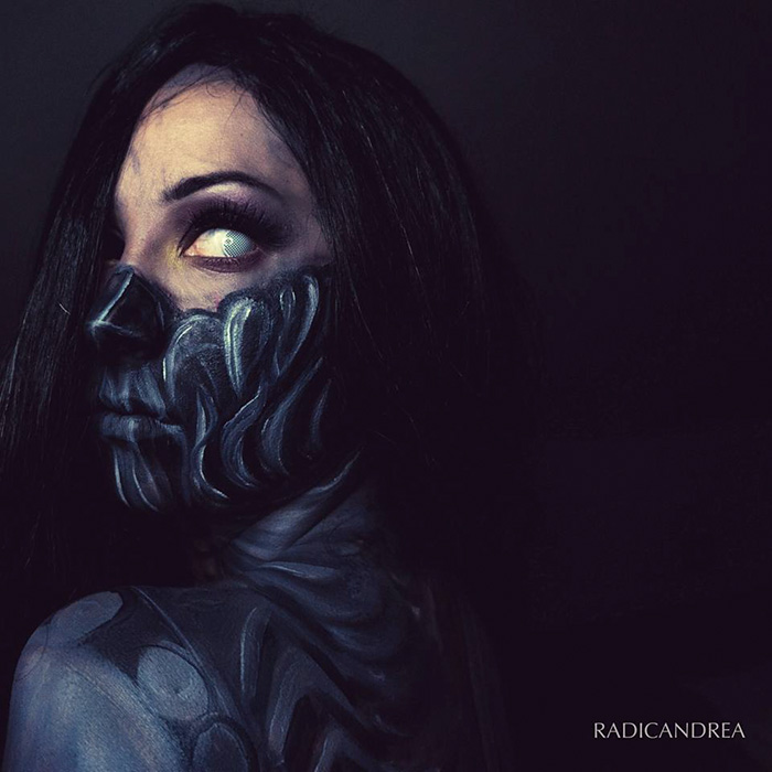 maquillaje monstruoso 13
