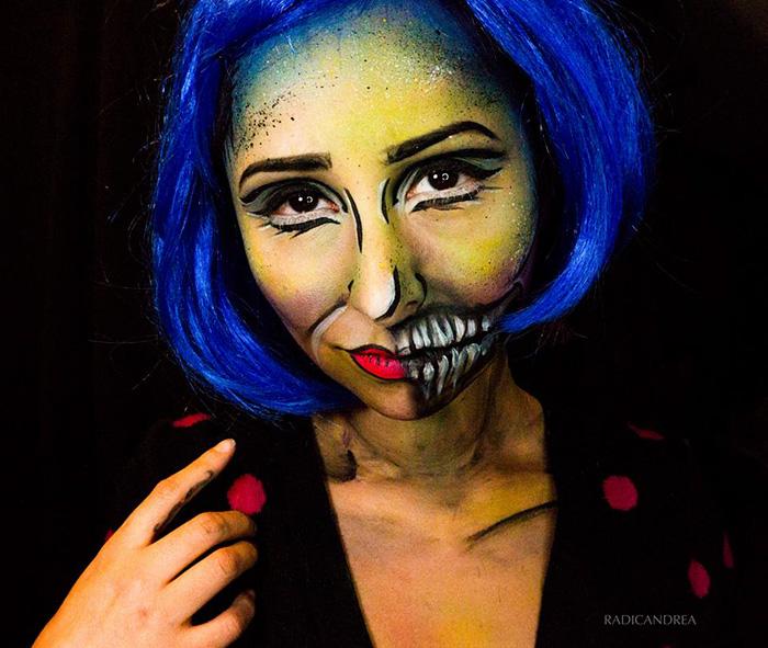 maquillaje monstruoso 14