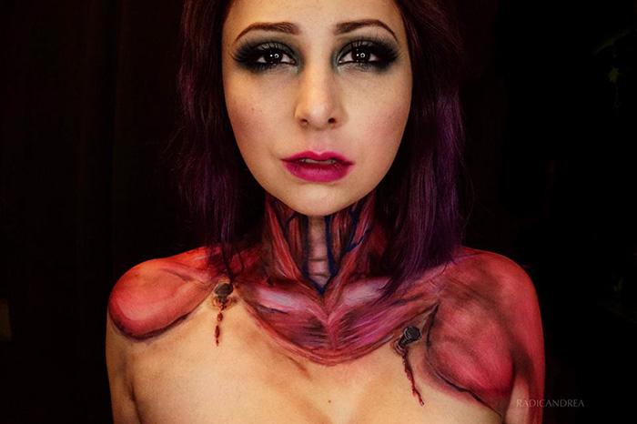 maquillaje monstruoso 15