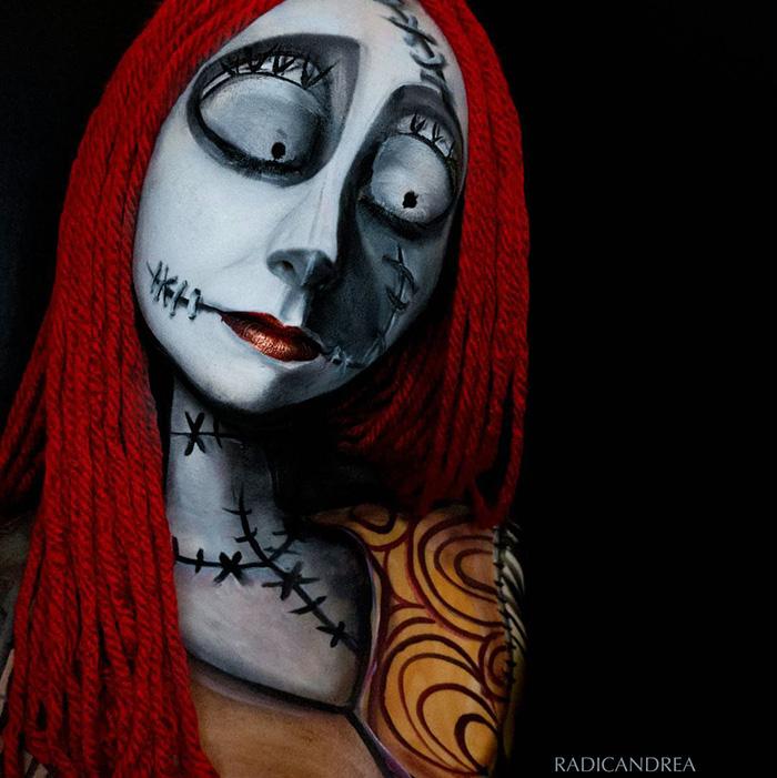 maquillaje monstruoso 2