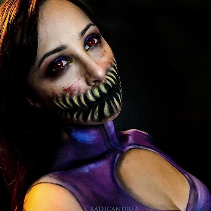 maquillaje monstruoso 4