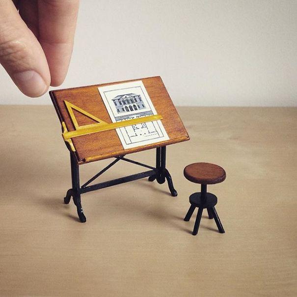 mobiliario en miniatura 1