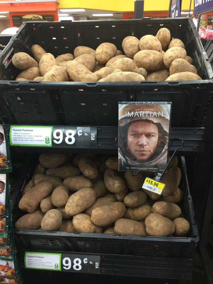 patatas de la pelicula The Martian