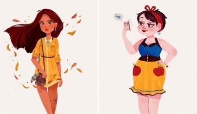 princesas Disney modernas 4