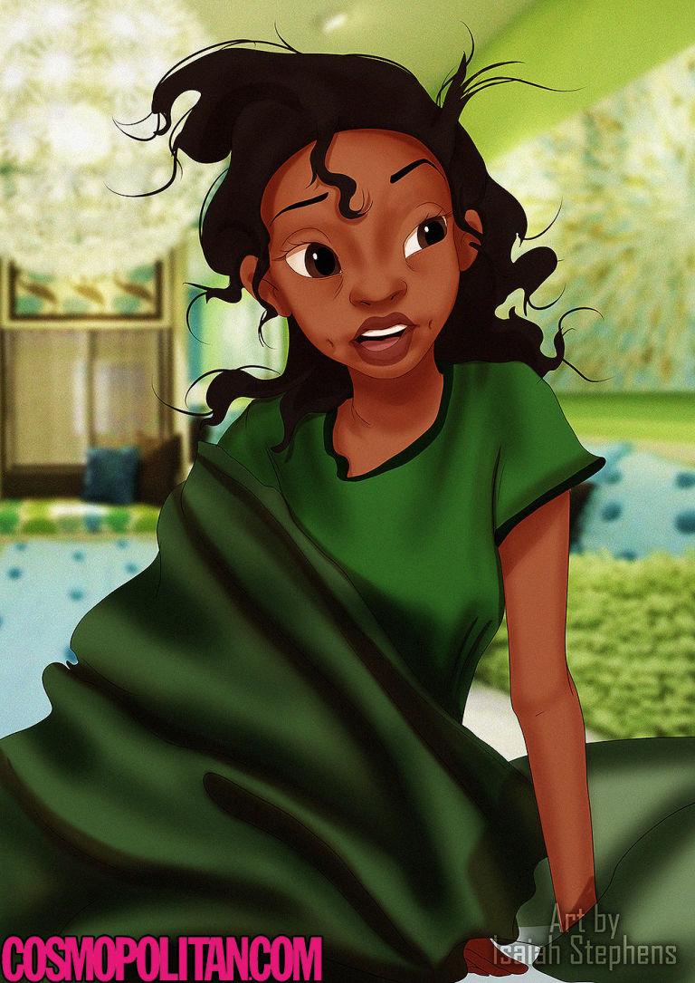 princesas Disney recien levantadas 6