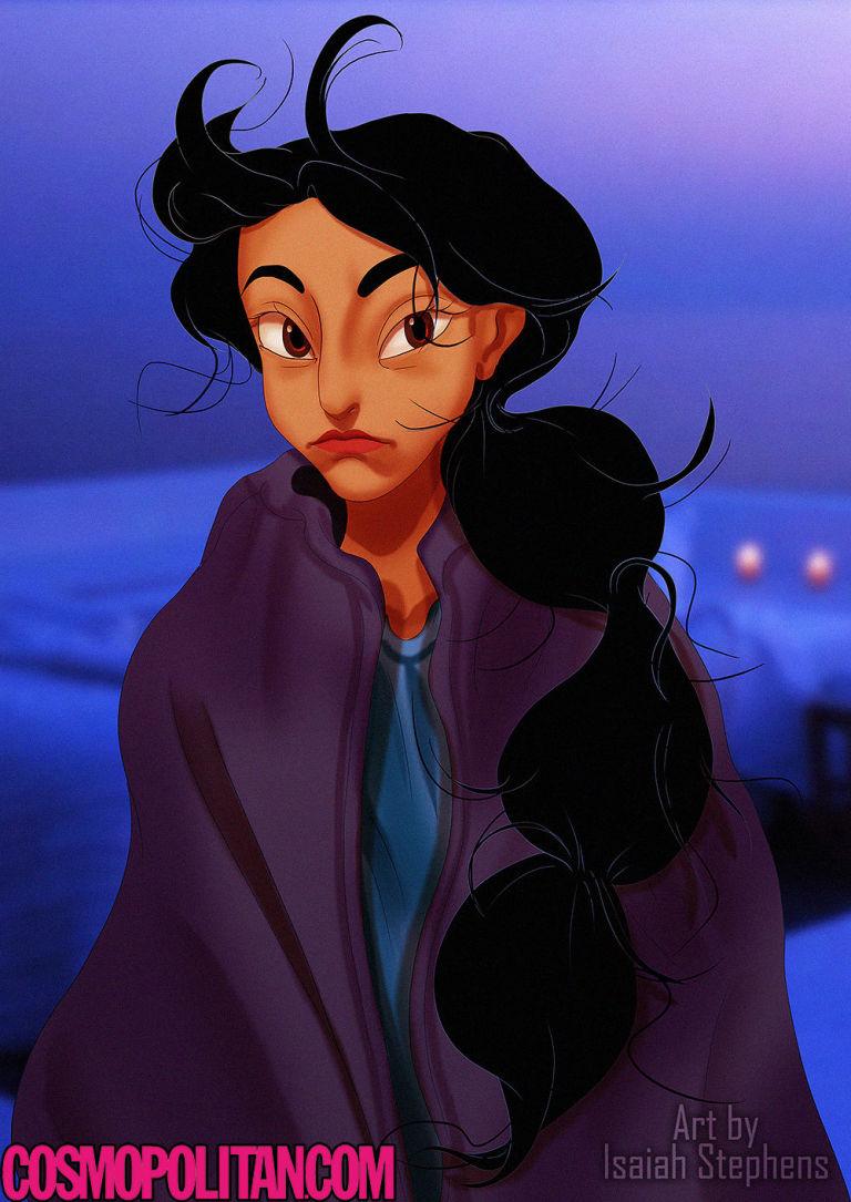 princesas Disney recien levantadas 7