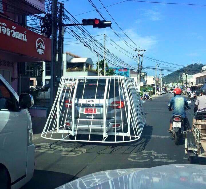 sistema de seguridad tipo jaula