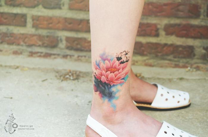 tatuajes florales 7