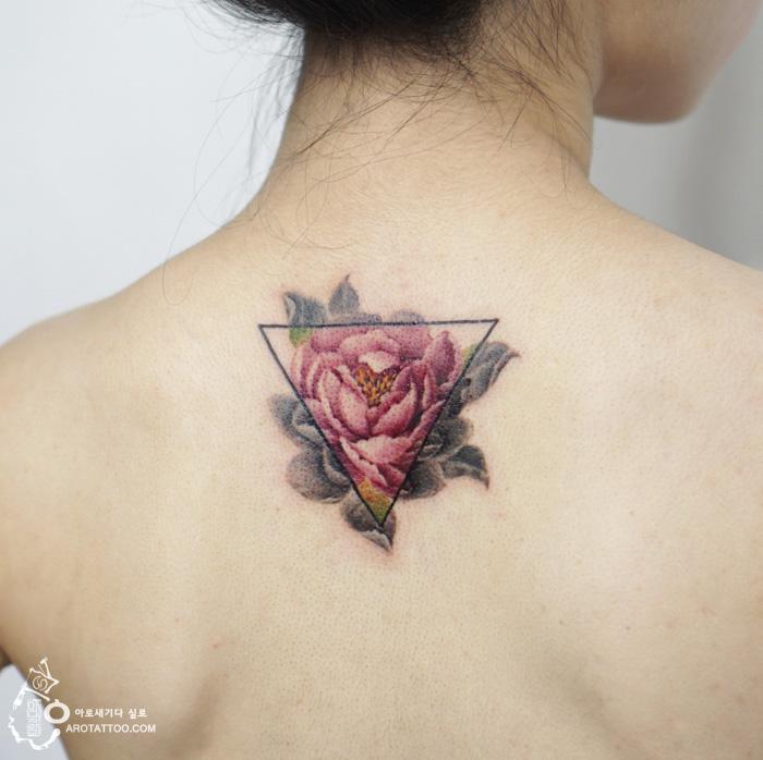 tatuajes florales 8