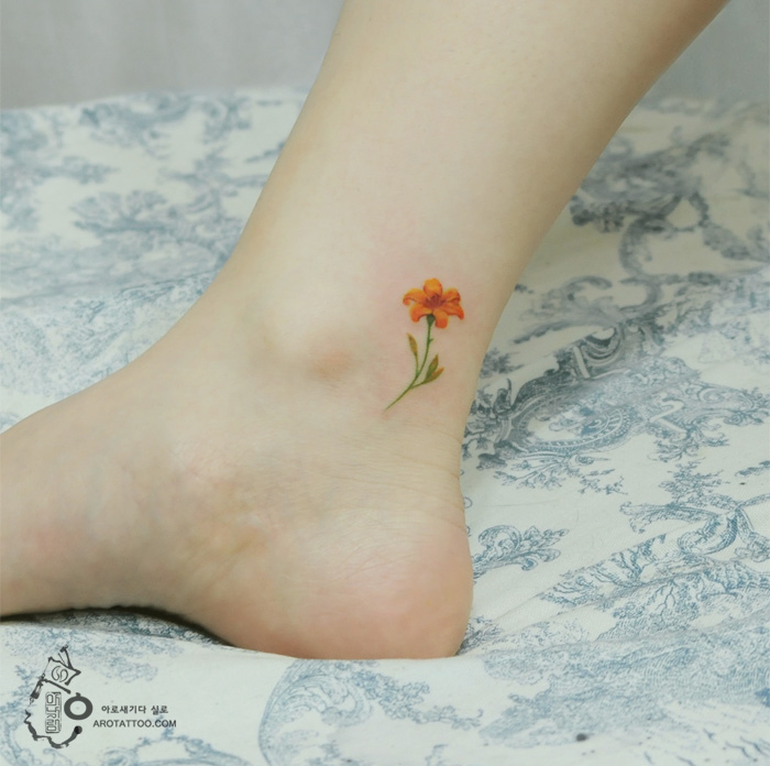 tatuajes florales 9