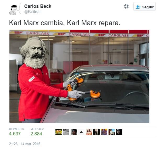 Karl Marx Carglass