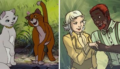 animales Disney humanos 15