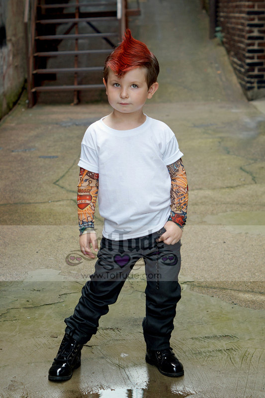 camiseta ninos tatuajes 4
