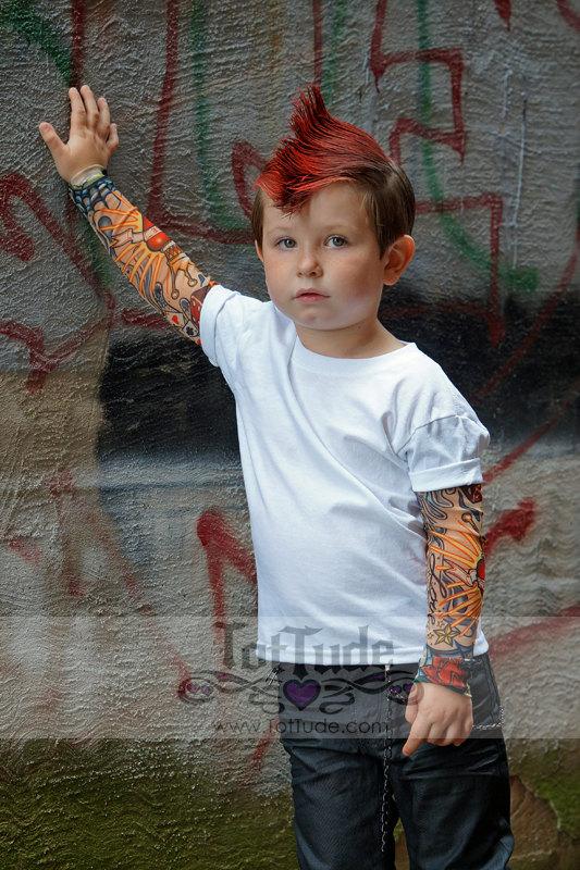 camiseta ninos tatuajes 5