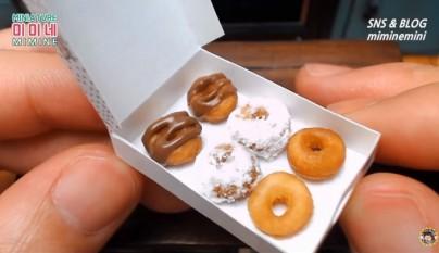 donuts en miniatura