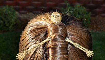 peinado terrorifico